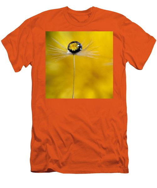 Flower And Seed Men's T-Shirt (Slim Fit) by Aaron Aldrich