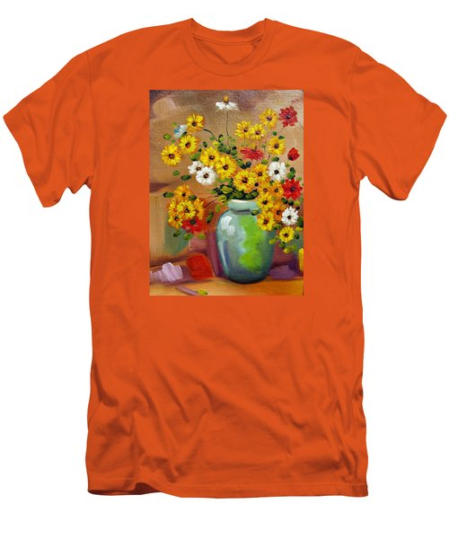 Flowers - Still Life Men's T-Shirt (Athletic Fit)