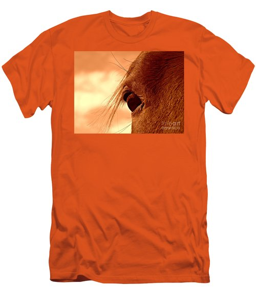 Fly In The Eye Men's T-Shirt (Athletic Fit)