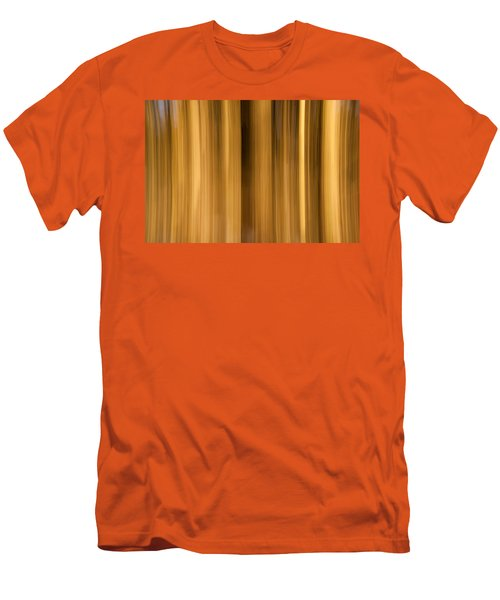 Men's T-Shirt (Slim Fit) featuring the photograph Abstract Forest by Davorin Mance