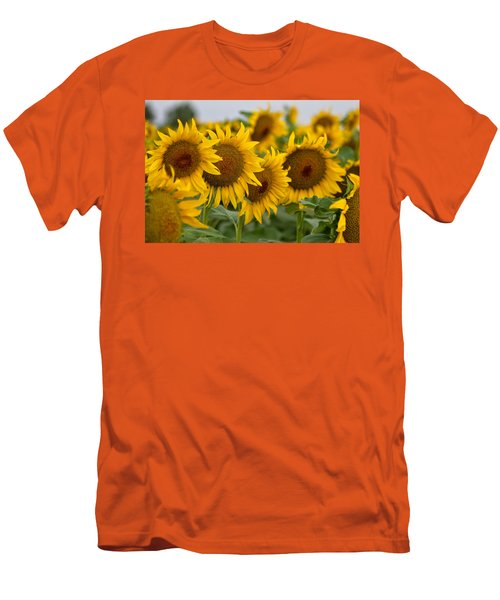 Men's T-Shirt (Slim Fit) featuring the photograph Four by Ronda Kimbrow