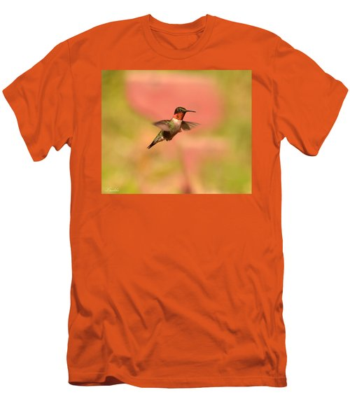Free As A Bird Men's T-Shirt (Slim Fit) by Lori Tambakis