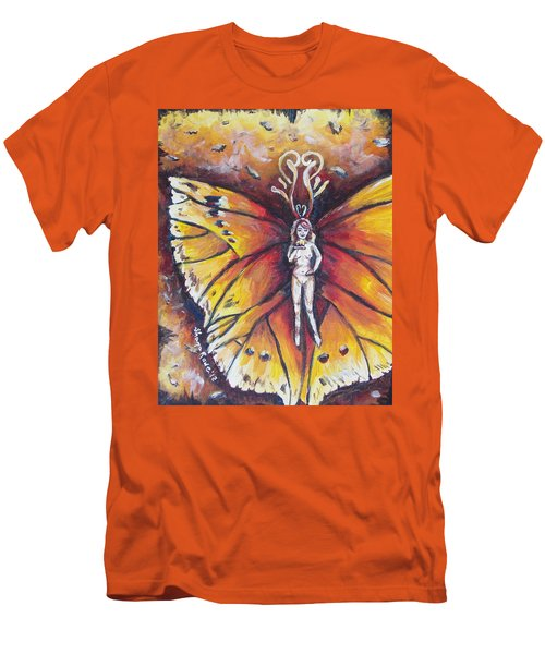 Free As The Flame Men's T-Shirt (Athletic Fit)