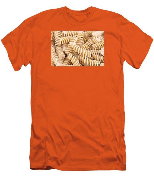 Fusilli Rotini Pasta  Men's T-Shirt (Slim Fit) by Vizual Studio