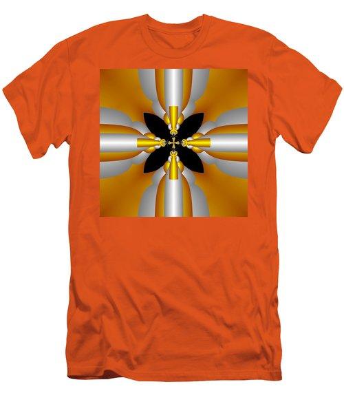 Men's T-Shirt (Slim Fit) featuring the digital art Futuristic by Svetlana Nikolova