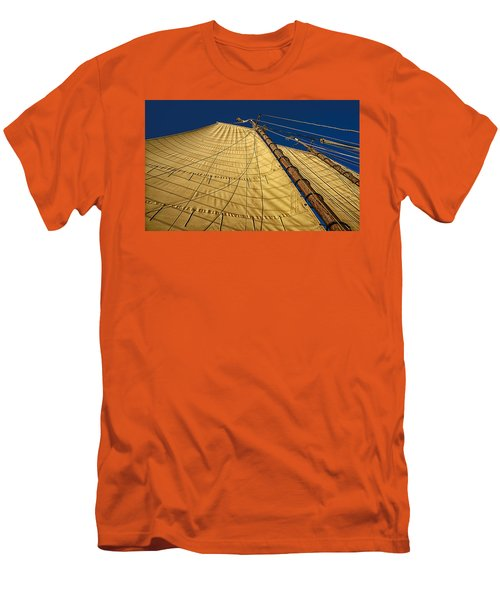 Gaff Rigged Mainsail Men's T-Shirt (Athletic Fit)