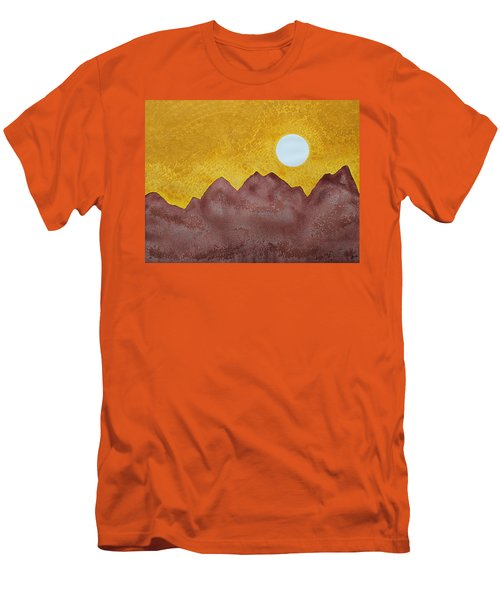 Gallup Original Painting Men's T-Shirt (Slim Fit) by Sol Luckman