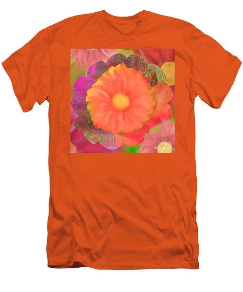 Garden Party IIi Men's T-Shirt (Slim Fit) by Christine Fournier