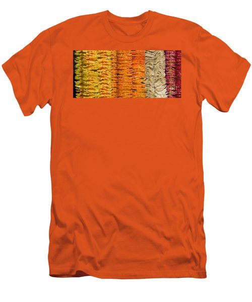 Men's T-Shirt (Slim Fit) featuring the photograph Garlands by Mini Arora