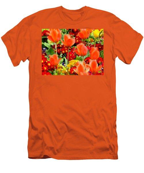 Glorious Garden Men's T-Shirt (Athletic Fit)