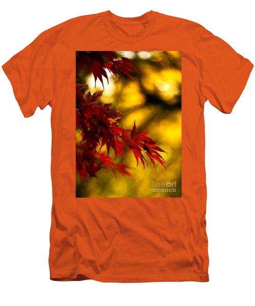 Graceful Leaves Men's T-Shirt (Slim Fit) by Mike Reid