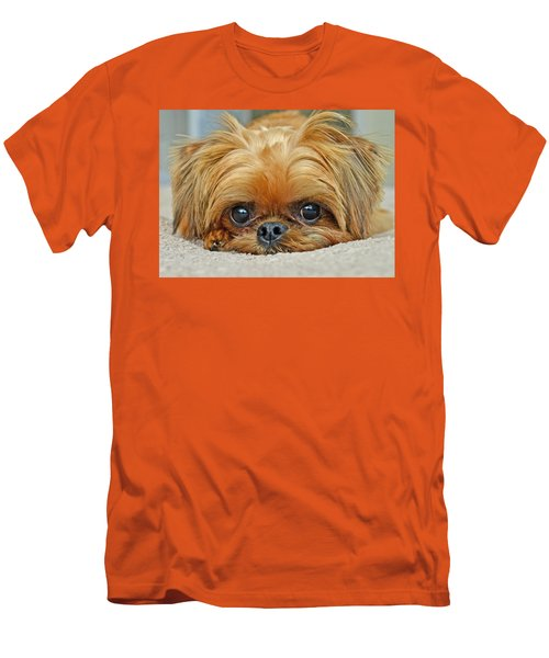 Men's T-Shirt (Slim Fit) featuring the photograph Griff by Lisa Phillips