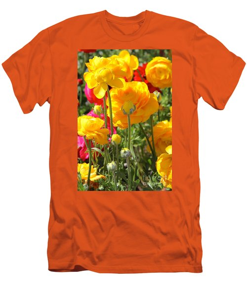 Growth Of A Ranunculus Men's T-Shirt (Athletic Fit)