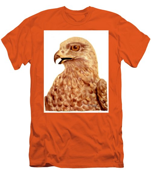 Hawk Men's T-Shirt (Slim Fit) by Terry Frederick