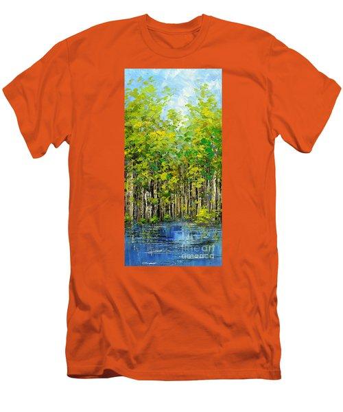 Heat Of Summer Men's T-Shirt (Slim Fit) by Tatiana Iliina