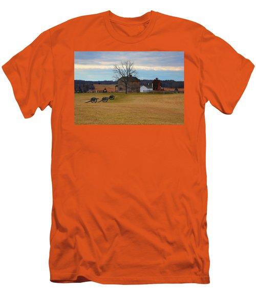 Henry House At Manassas Va Men's T-Shirt (Athletic Fit)