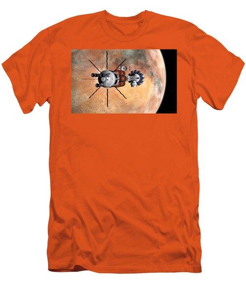 Hermes1 Realign Orbital Path Men's T-Shirt (Athletic Fit)