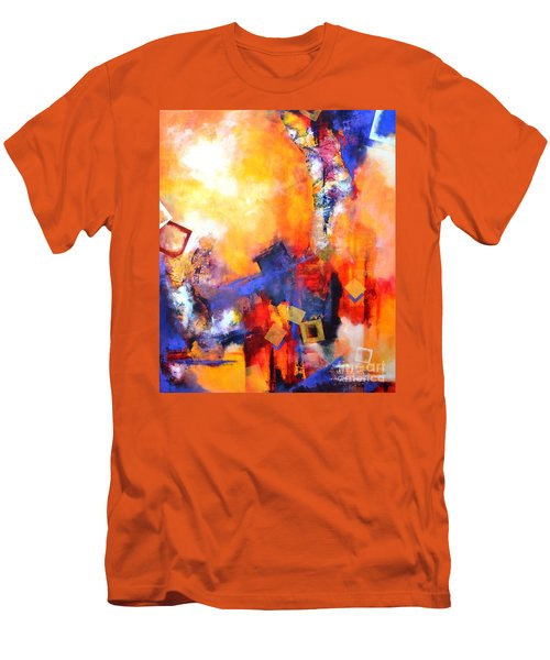 Hope Men's T-Shirt (Slim Fit) by Betty M M   Wong
