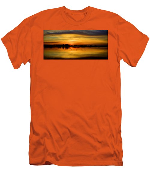 Horizons Men's T-Shirt (Slim Fit) by Bonfire Photography