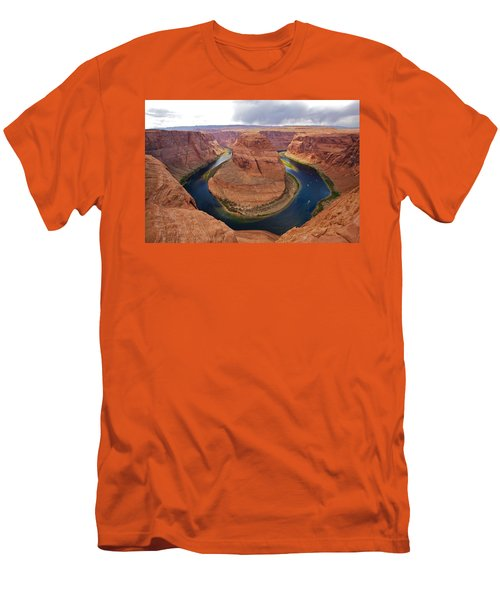Horseshoe Bend View 1 Men's T-Shirt (Athletic Fit)