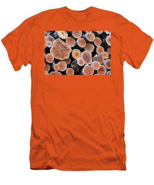 Ice Logs Men's T-Shirt (Athletic Fit)
