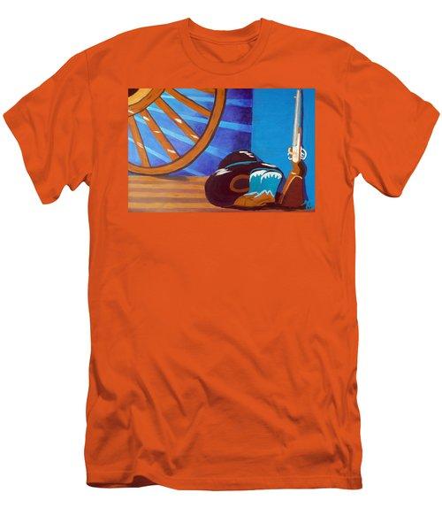 In Memory Of Cowboys Men's T-Shirt (Athletic Fit)
