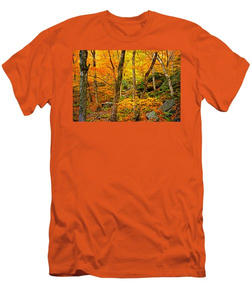 Men's T-Shirt (Slim Fit) featuring the photograph In The Woods by Bill Howard