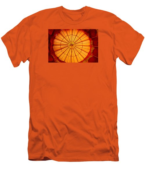 Inside The Red Baloon Men's T-Shirt (Slim Fit) by Nadalyn Larsen