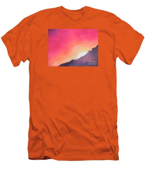 It's Not About The Climb  Rather What Awaits You On The Other Side Men's T-Shirt (Slim Fit) by Chrisann Ellis