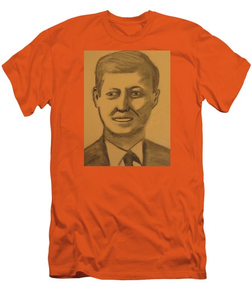 President Kennedy Men's T-Shirt (Athletic Fit)