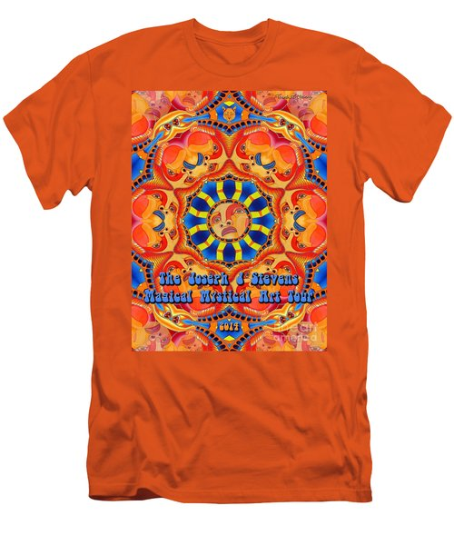 Joseph J Stevens Magical Mystical Art Tour 2014 Men's T-Shirt (Athletic Fit)