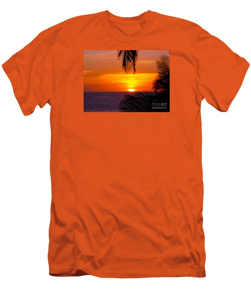 Kauai Sunset Men's T-Shirt (Slim Fit) by Patricia Griffin Brett