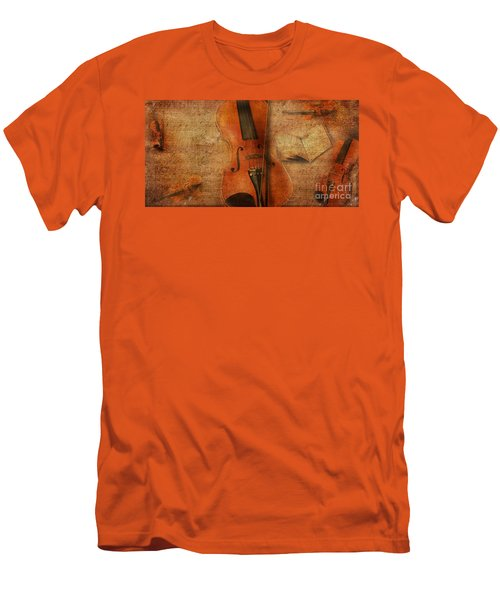 Key To The Soul Men's T-Shirt (Slim Fit) by Erika Weber