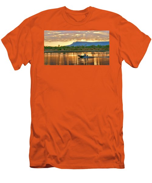 Kimberley Dawning Men's T-Shirt (Slim Fit) by Holly Kempe