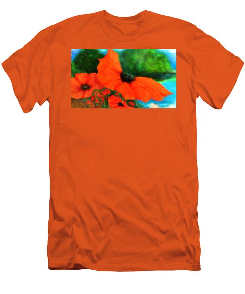 Lakeside Bloom Men's T-Shirt (Athletic Fit)