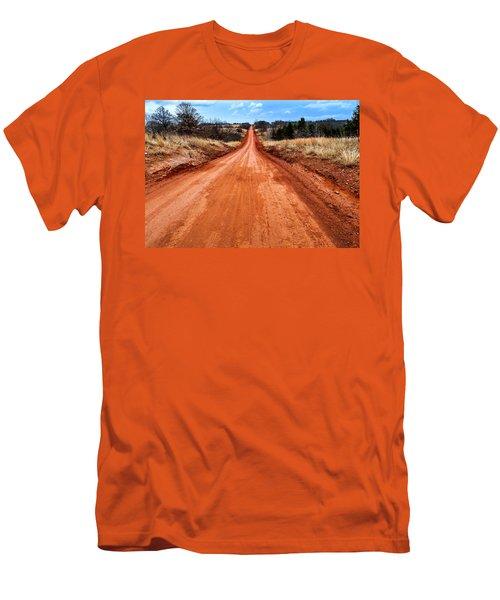 Land Run 100 Men's T-Shirt (Athletic Fit)