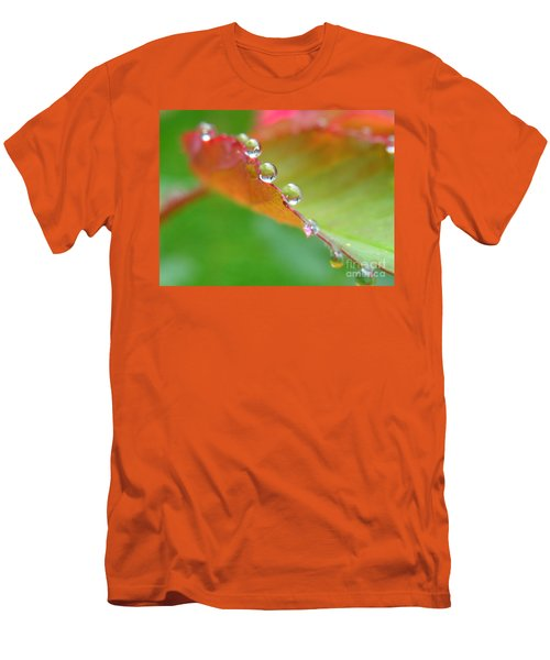 Leaf Pearls Men's T-Shirt (Athletic Fit)