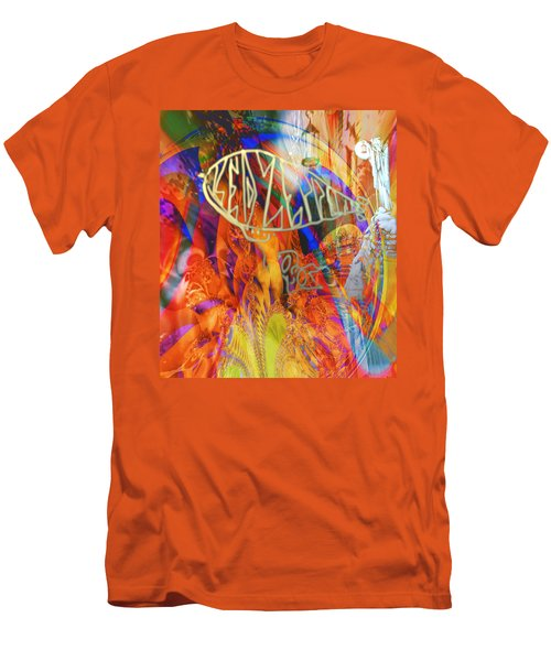 Led Shred Men's T-Shirt (Slim Fit) by Kevin Caudill