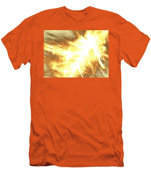 Men's T-Shirt (Slim Fit) featuring the digital art Light Spark by Kim Sy Ok