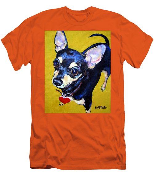 Little Bitty Chihuahua Men's T-Shirt (Athletic Fit)