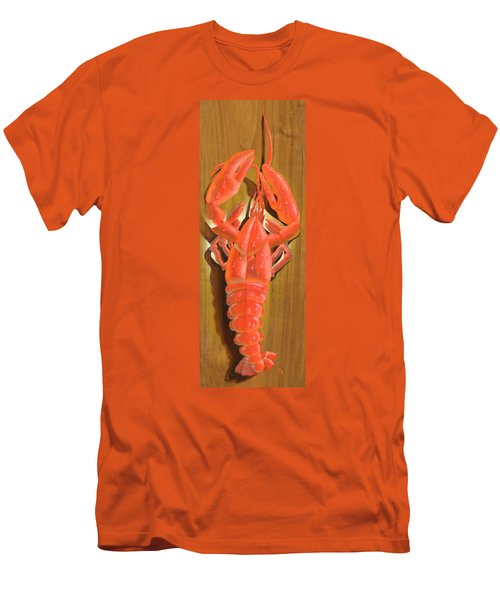 Lobster On A Plank Men's T-Shirt (Athletic Fit)