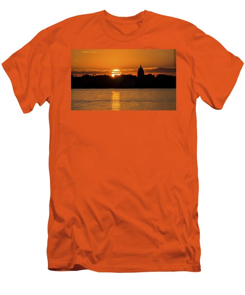 Madison Sunset Men's T-Shirt (Athletic Fit)