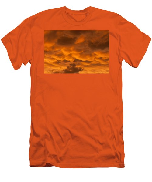 Mammatus Clouds Men's T-Shirt (Slim Fit) by Paul Rebmann