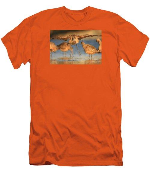 Marbled Godwit  Men's T-Shirt (Athletic Fit)