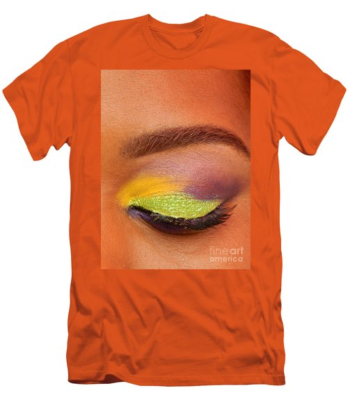 Mardi Gras 2014 Eye See Colors Of Mardi Gras Men's T-Shirt (Athletic Fit)