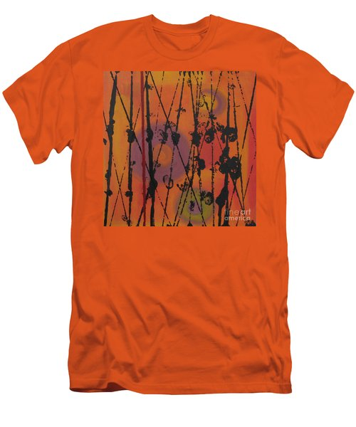 Men's T-Shirt (Slim Fit) featuring the painting Maya 1 by Mini Arora