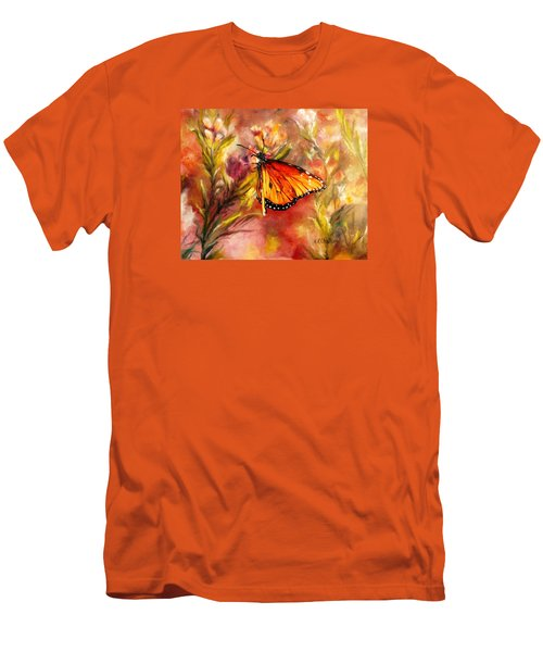 Monarch Beauty Men's T-Shirt (Slim Fit) by Karen Kennedy Chatham