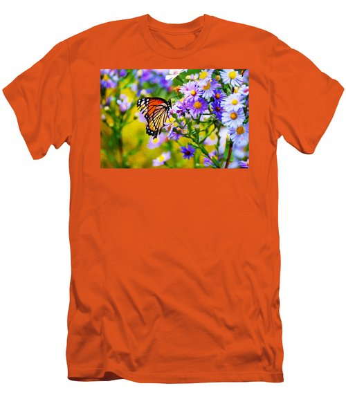 Monarch Butterfly 4 Men's T-Shirt (Athletic Fit)