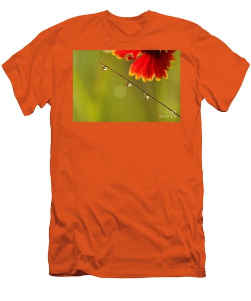 Men's T-Shirt (Slim Fit) featuring the photograph Morning Dew by Patrick Shupert