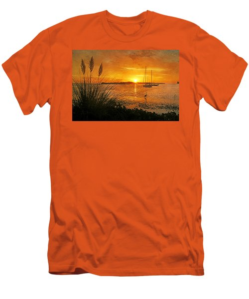 Morning Light - Florida Sunrise Men's T-Shirt (Athletic Fit)